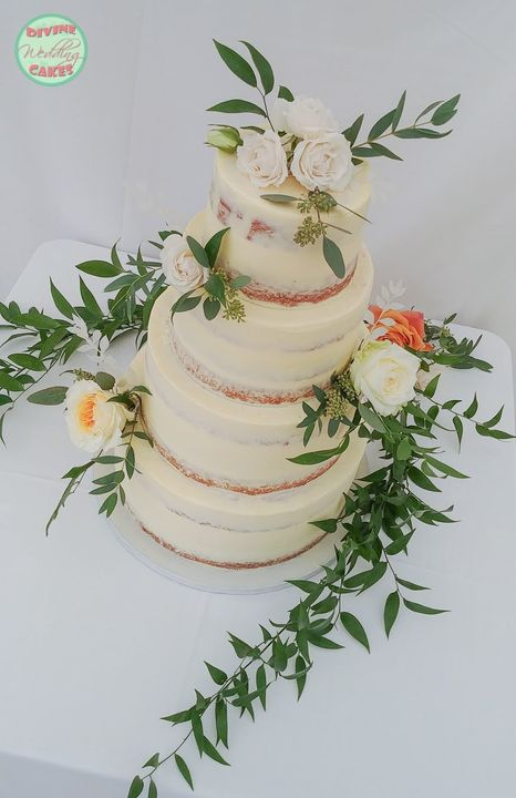 Semi-naked cake from last summer, at the wonderful Shilstone House