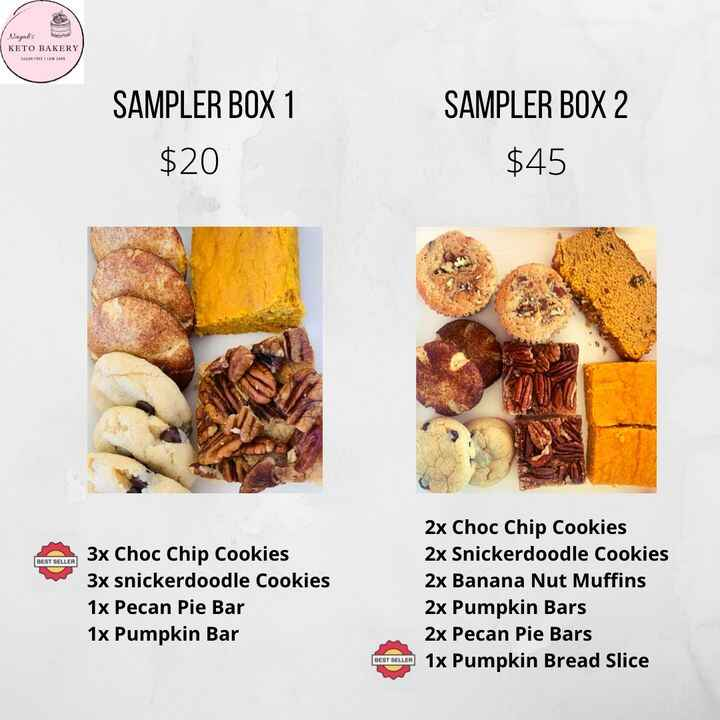 Sampler boxes are available for pickup today until Friday. Book yours now before they sell out!! They make for a great g...