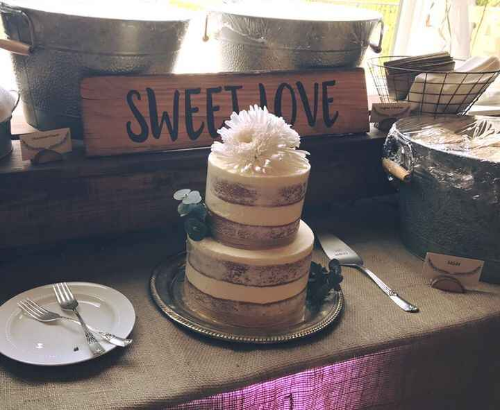 I was so honored to be asked to make the cake for my cousin's wedding. It was honestly one of the prettiest and sweetest...