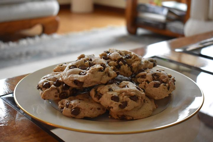 Fresh baked chocolate chip cookies for the Antipasteria at Big Creek Vineyard and Winery this weekend! Two for $1.