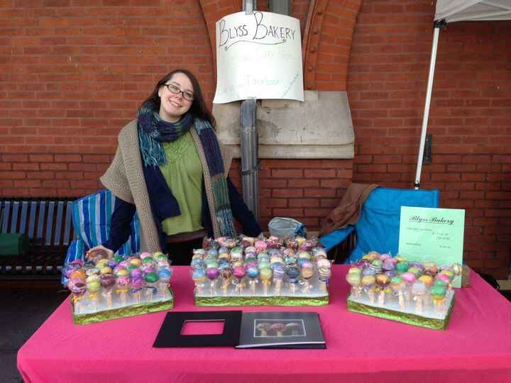 Come say Hi to Charlotte at the Blyss Bakery Cake Pop table at the Jim Thorpe Earth Day Festival!